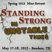 Now Available on CD and MP3 – Standing Strong in Unstable Times